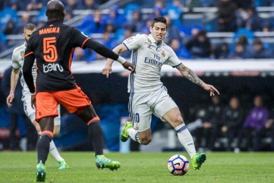 """Сім'я підштовхує Хамеса Родрігеса покинути """"Реал"""""""